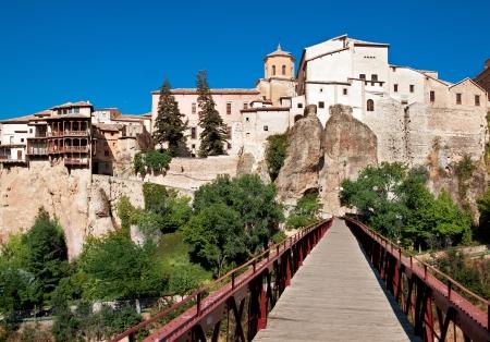 cuenca: View of city of Cuenca, province Cuenca, Castilla-La Mancha, Spain