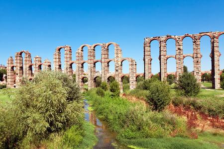 merida: Aqueduct Los Milagros, Merida, Spain