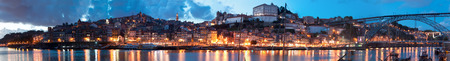 rabelo: view of old town of Porto, Portugal Editorial
