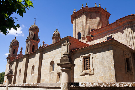 orense: Sanctuary Dos Milagres, Orense, Spain Stock Photo