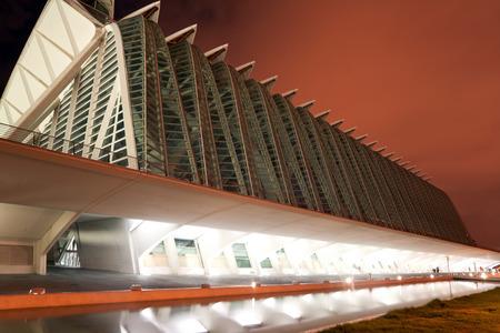 hemispheric: City of Arts and Sciences. Valencia, Spain