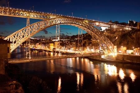 dom: pont Dom Louis, Porto, Portugal Banque d'images