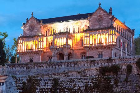 cantabria: Palace Sobrellano, Comillas, Cantabria, Spine