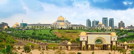 Istana Negara Königspalast (Istana Negara), Kuala Lumpur, Malaysia Standard-Bild - 28893764