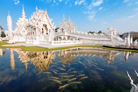 temple Rong Khun, Chiang Rai, Thailand