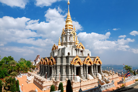 メイ Salong サンティキリ、チェンライ、タイ 写真素材