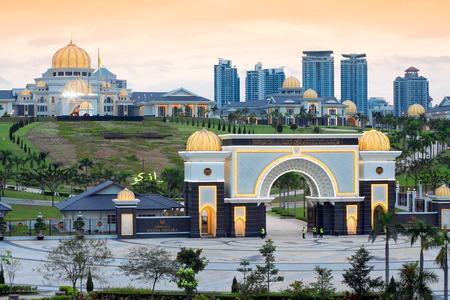 malaysia culture: Royal Palace Istana Negara (Istana Negara), Kuala Lumpur, Malaysia