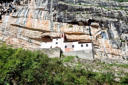 bolzano province: Hermitage of Saint Columban. Rovereto, province of Trentino-Alto Adiges, Bolzano, Italy
