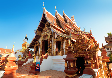 Temple Monthian, Chiang Mai, Thailand