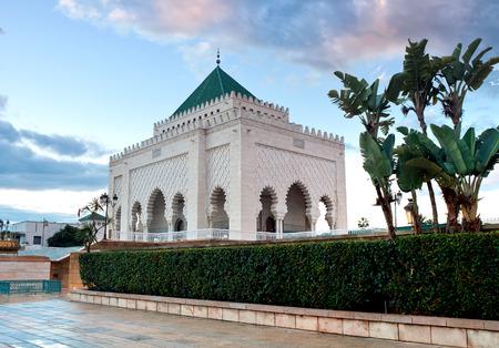 mausoleum of Muhammed V, Rabat, Morocco Stock Photo