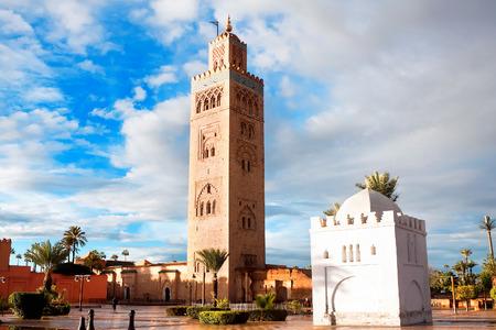marrakech: Koutoubia mosque, Marrakech, Morocco