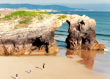 cantabrian: Beach of cathedrals, Galicia, Spain Editorial