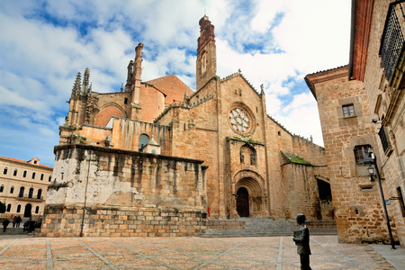 castile leon: small church in Salamanca. Castile and Leon, Spain