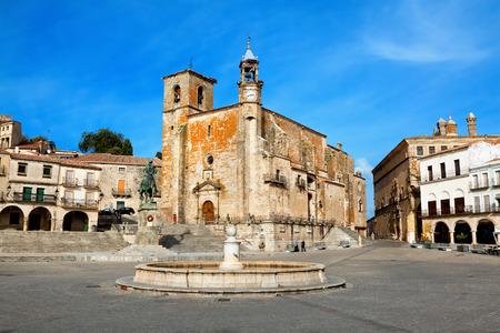 pizarro: Plaza Mayor. Trujillo, Caceres, Spain