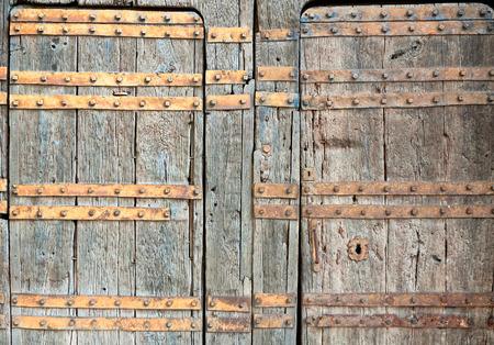 dowel: old door