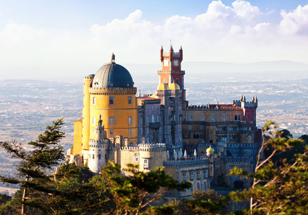 pena: Palace of Pena in Sintra, Portugal