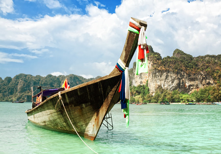 railay: Railay beach, Krabi. Thailand Stock Photo