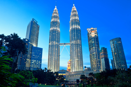 kuala: Petronas Twin Towers were the tallest buildings (452 m) in the world from 1998 to 2004