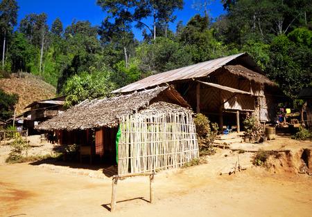 soi: Karen village Ban Nai Soi, Mae Hong Son Province, Thailand