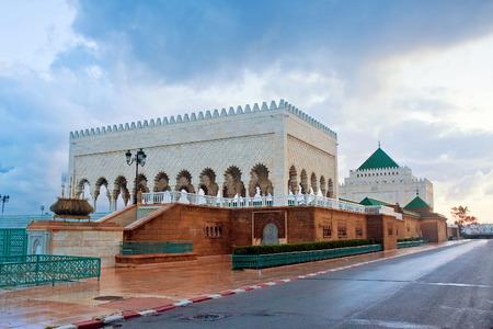 mausoleum of Muhammed V, Rabat, Morocco Standard-Bild
