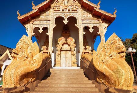 mimo: Templo Kumpa Pradit (Ban Mo), Chiang Mai, Tailandia