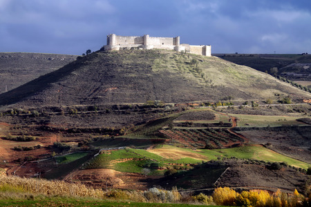 mancha: castle of Jadraque. Castile-La Mancha, Spain