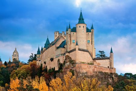 Alcázar in Segovia, Spanien Standard-Bild - 41166574