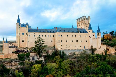 alcazar: Alcazar Castle in Segovia, Spain Editorial