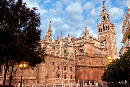 Cathedral of Saint Mary (Catedral de Santa Maria de la Sede), Giralda. Seville, Spain