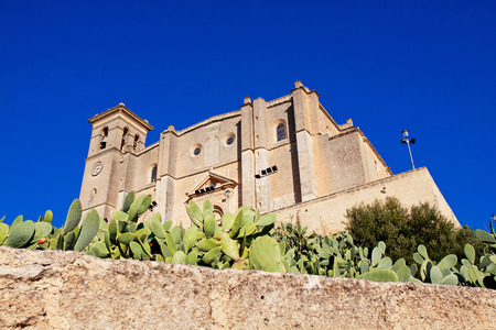 collegiate: Collegiate church and monastery of Osuna. Andalucia, Spain