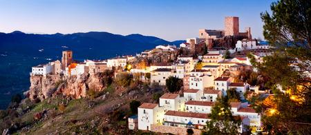 Hornos de Segura town in province of Jaen. Spain Standard-Bild
