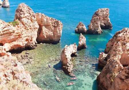 da: Coastal cliffs (Ponta da Piedade), Lagos, Portugal