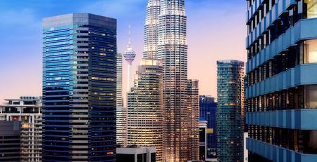 malaysia city: Kuala Lumpur city skyline