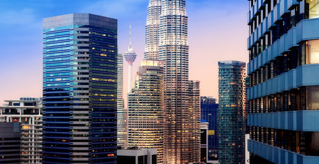 Kuala Lumpur Skyline der Stadt Standard-Bild - 41167171