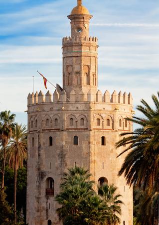 Torre del Oro (Gold Tower). in Sevilla, Spain