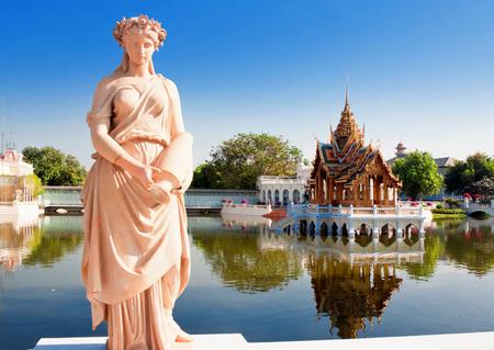 Royal Summer Bang Pa-In Palace near Bangkok, Ayutthaya province, Thailand.
