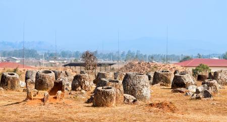 Valley pitchers. Phonsavan, Xiangkhouang province, Laos