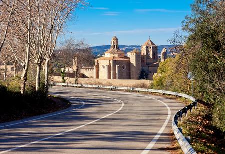 Poblet Monastery. Catalonia. Spain