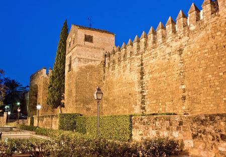 Alcazar de los Reyes Cristianos. Cordoba, Spain