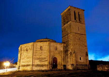 Churh of Holy Cross, Segovia, Spain Standard-Bild