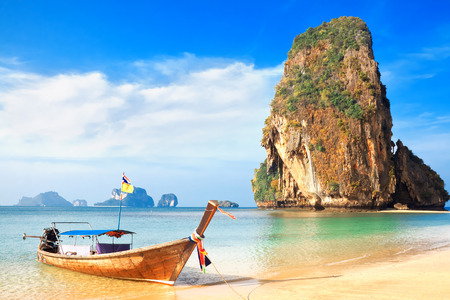 railay: Railay beach. Krabi, Thailand