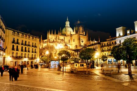 segovia: Segovia Cathedral, Spain