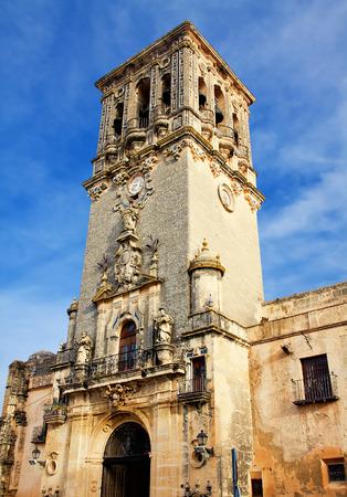 bell tower, Arcos de la Frontera, Spain