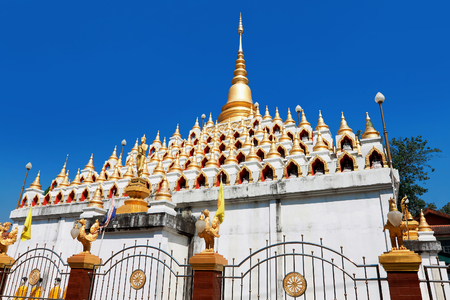 temple Mani Phraison in Mae Sot, Province of Tak, Thailand