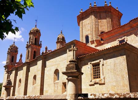 Sanctuary Dos Milagres, Orense, Spain Standard-Bild
