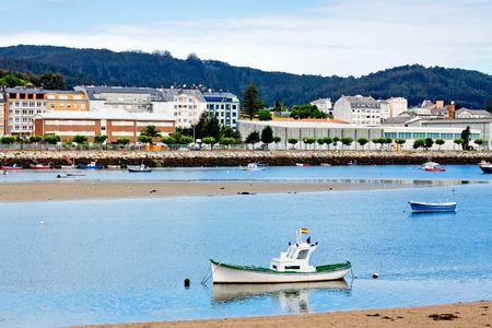 galicia: river Viveiro, Galicia, Spain