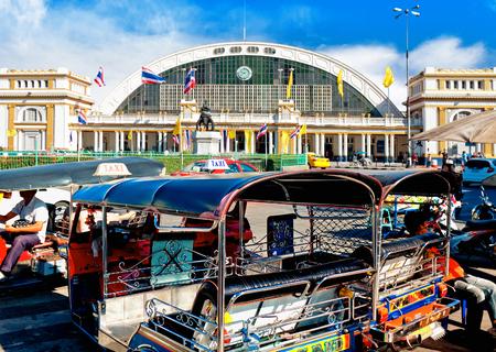 rapid steel: Hua Lamphong railway station or Bangkok Grand Central Terminal Railway Station, is the main railway station in Bangkok, Thailand
