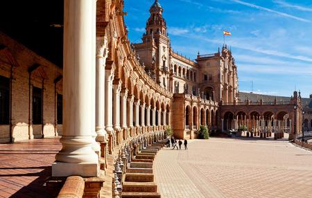 plaza: Plaza de Espana. Seville, Spain