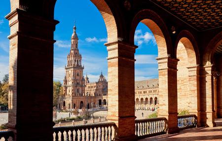 Plaza de Espana. Seville, Spain