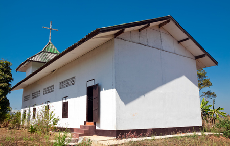 protestant: Protestant church in Mae Hong Son province, Northern Thailand